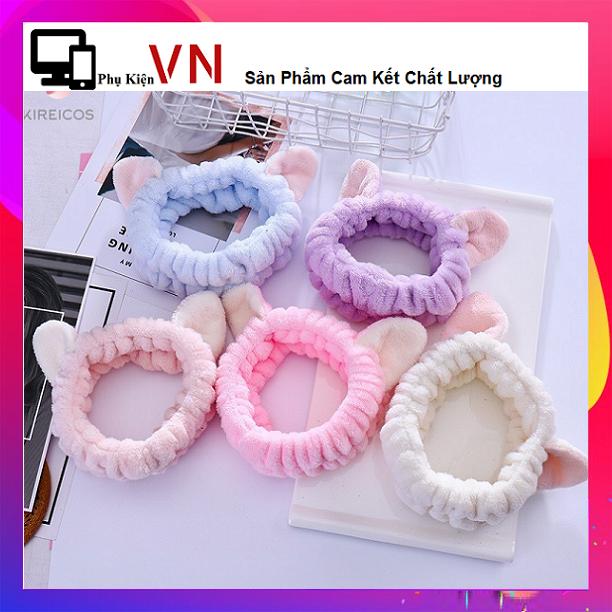 ⚡ Phukienvinhnguyen – RẺ VÔ ĐỊCH – Phụ kiện tóc băng đô turban tai mèo 3D dễ thương ⚡