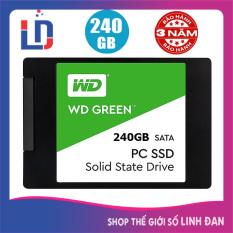 Ổ cứng SSD Western digital Green 480GB 240Gb 120GB Sata III 6Gb/s 2.5inch – WDGR TH