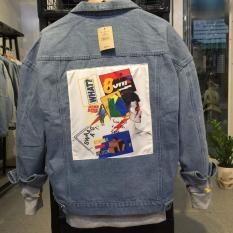 Áo khoác jean NAM NỮ thời trang ANGEL FASHION phong cách BTS – 08 (ẢNH THẬT)