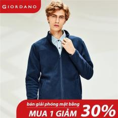 Áo khoác nam cổ đứng có khóa kéo trước chất liệu dày dặn thương hiệu quốc tế Giordano Free Shipping 13070812