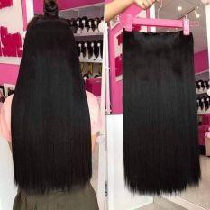 Tóc giả nữ kẹp ❤️ FREESHIP ❤️❤️ kẹp thẳng dài 60cm