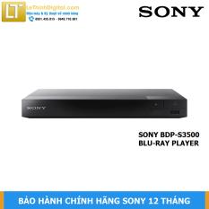 Đầu đĩa Bluray Sony BDP-S3500 – Hàng chính hãng – Bảo hành chính hãng Sony 12 tháng toàn quốc