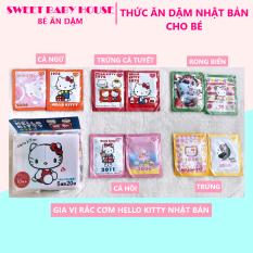 Lẻ 1 gói ngẫu nhiên – Gia vị rắc cơm Hello Kitty Nhật Bản cho bé ăn dặm. Date 6/2021 – Sweet Baby House
