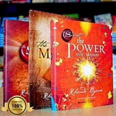 Combo Bộ Sách Kinh Tế: The Magic Phép Màu + The Secret Bí Mật + The Power Sức Mạnh (Bìa Cứng Xịn – In Màu)
