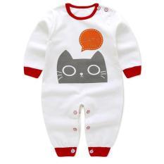 Áo liền quần cho bé sơ sinh thun cotton xịn thoáng mát 104