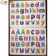 Bảng chữ cái Tiếng Việt gỗ có núm cầm 20×30 cm cho bé, Phát Triển Trí Tuệ Cho Bé Mầm Non 2 – 6 Tuổi, Đồ chơi gỗ – Đồ chơi trí tuệ – Đồ chơi thông minh cho trẻ, Shop Đồ Chơi Trẻ Em Thông Minh, An Toàn – AKOIN