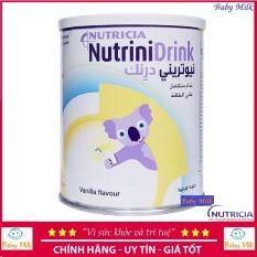 Sữa bột NutriniDrink vị Vani 400g Nutrini Drink Date 02/2022
