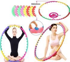 (Khung Giờ Vàng) Vong lắc eo gia re, Vòng lắc giảm eo Massage Hoop cao cấp, Vòng lắc eo giảm cân hiệu quả với các hạt hoạt tính massage đánh tan mỡ bụng