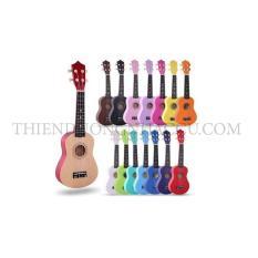 Đàn ukulele màu trơn size 21