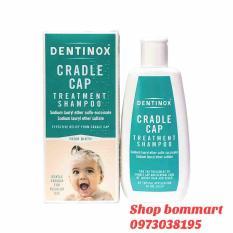 Dầu gội dentinox đặc trị cứt trâu cho bé chai 125ml