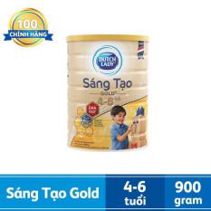 Sữa bột Dutch Lady Sáng Tạo Gold lon 900g (4-6 tuổi) – HSD luôn mới