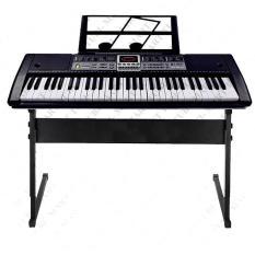 Đàn piano đàn điện tử đàn organ Electronic Keyboard Đàn 61 phím kèm Giã đỡ Mic âm sắc rõ ràng, độ vang tốt, có độ bền cao, dễ dàng sử dụng
