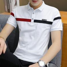 [RẺ VÔ ĐỊCH] Áo thun nam, áo phông POLO có cổ CAO CẤP thiết kế phong cách lịch lãm và trẻ trung MENSHOPPS (trắng,đen,xám) – TN251