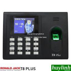 [HCM]Máy chấm công vân tay Ronald Jack T8 Plus + Thẻ cảm ứng