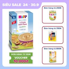 [QUÀ TẶNG HOT] Bột sữa ăn dặm ngũ cốc hoa quả tổng hợp – mận tây HiPP Organic Milk and Cereal 250g