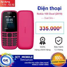 Điện thoại Nokia 105 Dual Sim (2019) – Phân phối Việt Nam