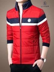 Áo khoác phao thiết kế logo đơn giản phù hợp với dáng người dưới 75kg (nhiều màu) – LiyorShop – PAKP2003