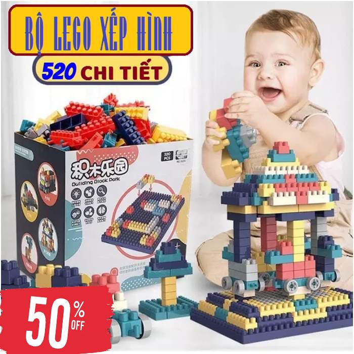 Bộ xếp hình LEGO giá rẻ, Bộ đồ chơi Lego, BỘ LEGO SIÊU TRÍ TUỆ VÒNG QUAY KHỔNG LỒ 520...