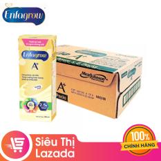 [Siêu thị Lazada] Thùng 24 hộp sữa nước Enfagrow 4 vị Vani 180ml cho trẻ trên 2 tuổi