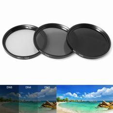 OneTwoFit 52mm Filter+UV CPL FLD Filter Set & Lens Hood ND2 ND4 ND8 ND for DSLR Camera LF133
