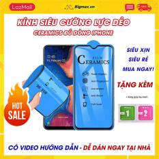 Kính cường lực IPHONE 7 plus 6 6s plus 7 8plus x xs max xr 11 11pro 11 promax 12 12 pro 12 max 12 promax – Miếng dán màn hình Iphone FULL màn dẻo Ceramics