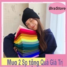 Mũ Len Hàn Quốc Beanie Nhiều Màu