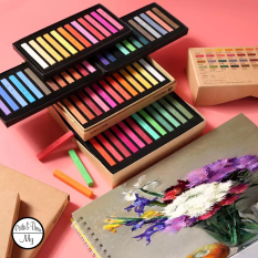 Phấn tiên Masters Pastel MARIE's 12/24/36/48 màu