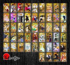 [ĐỘC QUYỀN PHẢN QUANG 7 MÀU] Combo 10 Thẻ bài Fairy Tail: Magic Battle Extreme – Khổ 6.3 cm x 9 cm
