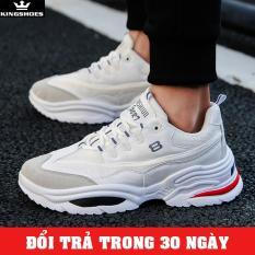 Giày Sneaker Nam Cao Cấp Phong Cách Hàn Quốc (Giá Siêu Sốc) – KINGSHOES (KS10) thiết kế thời trang phong cách trẻ trung, hiện đại, cá tính