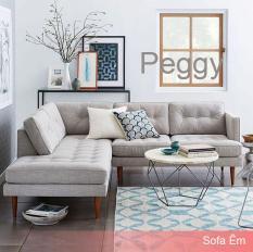 Ghế Sofa Góc L Peggy