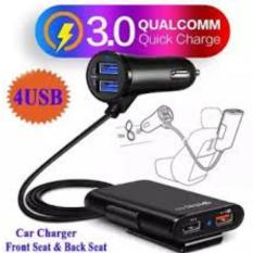 Tẩu sạc ô tô Củ sạc nhanh QC3.0 dành cho ô tô 4 cổng sạc, tẩu sạc ô tô sạc nhanh QC3.0 Tẩu sạc oto,tau sac xe,Tẩu Sạc USB, Cốc sạc,dock sạc, tẩu sạc ô tô, củ sạc đa năng cho xe hơi, xe ôtô 4 cổng USB bộ chia tẩu sạc ô tô củ sạc ô tô