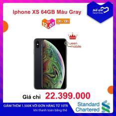 Điện Thoại Iphone XS 64GB Màu Gray (Hàng nhập khẩu)