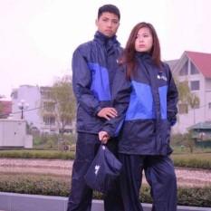 Bộ quần áo mưa vải dù Lion 2 lớp cao cấp