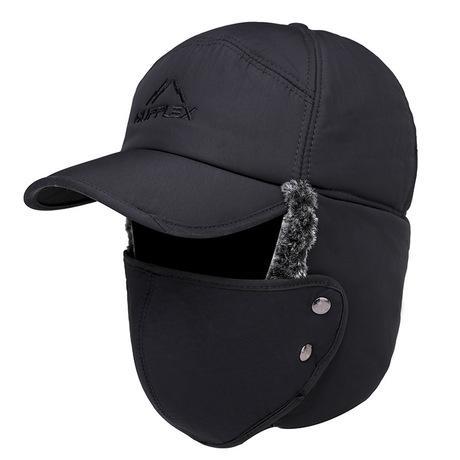 Mũ lót lông trùm đầu kèm khẩu trang Màu xanh tím than Chống tia UV, bảo vệ da mặt vùng...