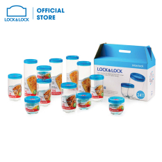 Bộ 12 hộp đựng thực phẩm Lock&Lock INL302S12