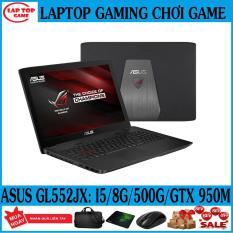 Laptop Asus GL552JX Khủng long game (Core i5-4210H/ 8G/ 500G /VGA NVIDIA GTX 950M, màn 15.6 in FHD 1920*1080) DÒNG LAPTOP CHUYÊN GAME