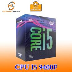 [Trả góp 0%]CPU Intel Core i5-9400F 2.90Ghz up to 4.10GHz 9MB nguyên box seal