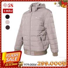 Áo Khoác Nam 5S (AKC20022) Có Mũ Tháo Rời,Chần Bông Cao Cấp, Siêu Nhẹ, Siêu Ấm, Thiết Kế Bo Chun Gọn Gàng, Phom Dáng Trẻ Trung