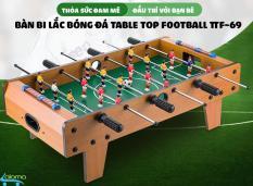 Bàn bi lắc bóng đá cỡ lớn Table Top Football TTF-69 bằng gỗ 70*40cm