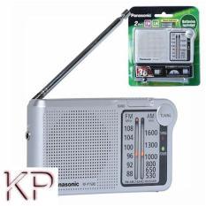 Đài Radio FM AM Panasonic RF P150D kèm 2 pin