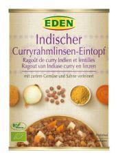 Đậu lăng hữu cơ hầm cà ri kiểu Ấn 560g – Eden