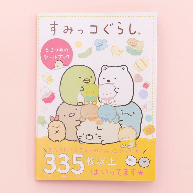 Sổ Tay Sticker Nhãn Dán Đáng Yêu dễ thương, chất liệu giấy dày dặn Trang Trí Sổ Kế Hoạch, Sổ Nhật Ký, Sổ Tay Kawaii Nhật Bản