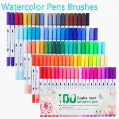 [ MIỄN PHÍ VẬN CHUYỂN ] Bút tô màu nước 2 đầu – Set 24/36/48/60/80/100 màu