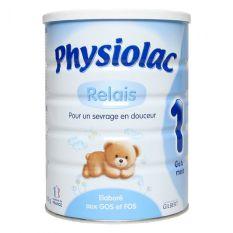 Sữa Physiolac số 1 900g (dành cho trẻ từ 0 – 6 tháng)