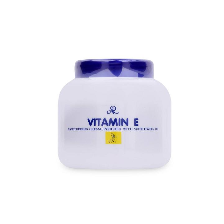 Kem dưỡng ẩm Vitamin E Aron Thái Lan 200ml dùng cho cả da mặt và body