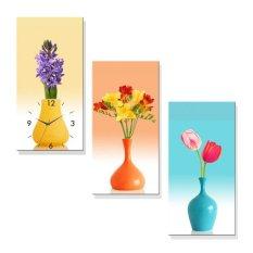 Đồng hồ tranh Nghệ Thuật Cắm Hoa Dyvina 3T3060-14