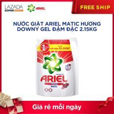 Túi nước giặt Ariel Matic Hương Downy gel đậm đặc 2.15kg