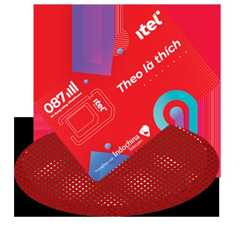 Sim 4G iTel-Vinaphone Gói May- Loại Sim Có Sẵn Gói Cước Tháng Đầu – Chỉ 77k Data 3Gb/ngày (90Gb/Tháng) – 4G tốc độ cao Toàn Quốc- Gọi Miễn Phí – Free 60 SMS