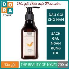 Dầu gội cho nam ngăn gàu giảm rụng tóc Ginseng Hair Renew Shampoo 200ml