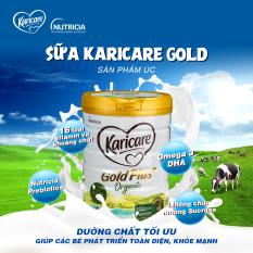 Sữa Hữu Cơ KARICARE ORGANIC GOLD PLUS Úc 900Gr số 3